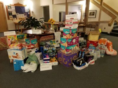 Supporting People in Crisis: Supplies Collected and Sent to Puerto Rico